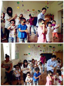 教爸爸妈妈跳舞