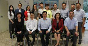 中意国际学校领导与丽水市侨办一行领导合影留念-750x390